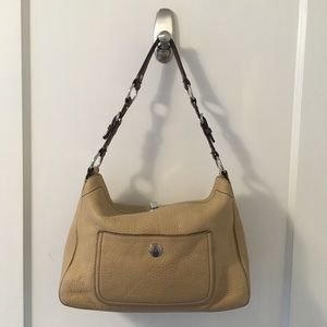 Coach Chelsea Turnlock Leather Shoulder Bag Hobo